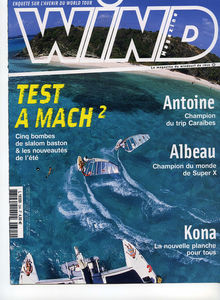 Windsurfing magazine Wind featuring The Kite and Windsurfing Guide