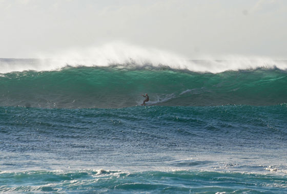 Udo Hölker, Herausgeber der Kite and Windsurfing Guides, Big Wave Kitesurfing, Northshore Fuerteventura