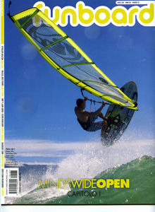 Windsurfing magazine Funboard Italia featuring The Kite and Windsurfing Guide