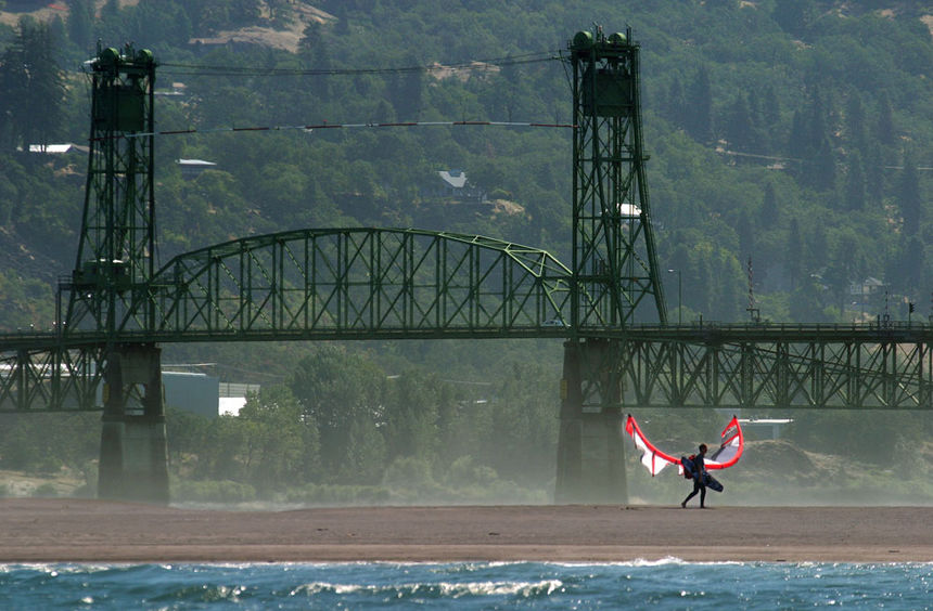 Spotguide, Kite and Windsurfing Guide, Hood River, Columbia River Gorge, Nordamerika