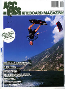 Kitesurfing magazine Access featuring The Kite and Windsurfing Guide