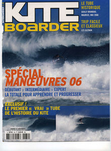 Kitesurfing magazine Kiteboarder featuring The Kite and Windsurfing Guide