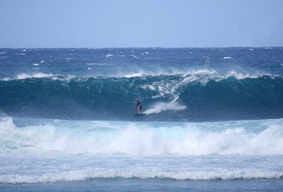 Udo Hölker, Herausgeber der Kite and Windsurfing Guides, Big Wave Kitesurfing, Oahu Hawaii