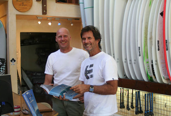 The Kite and Windsurfing Guide, editor Udo Hölker, iconic watersports photographer Eric Aeder