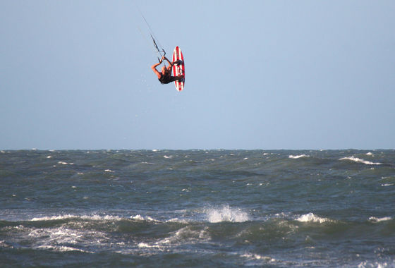 Udo Hölker, Herausgeber der Kite and Windsurfing Guides, Brasilien